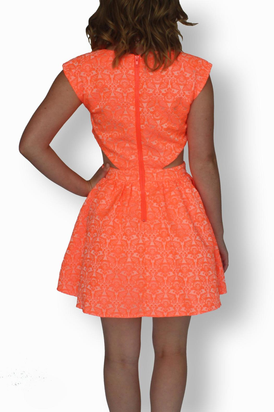I Heart U Fashion Petunia Cut Out Dress From Indiana By