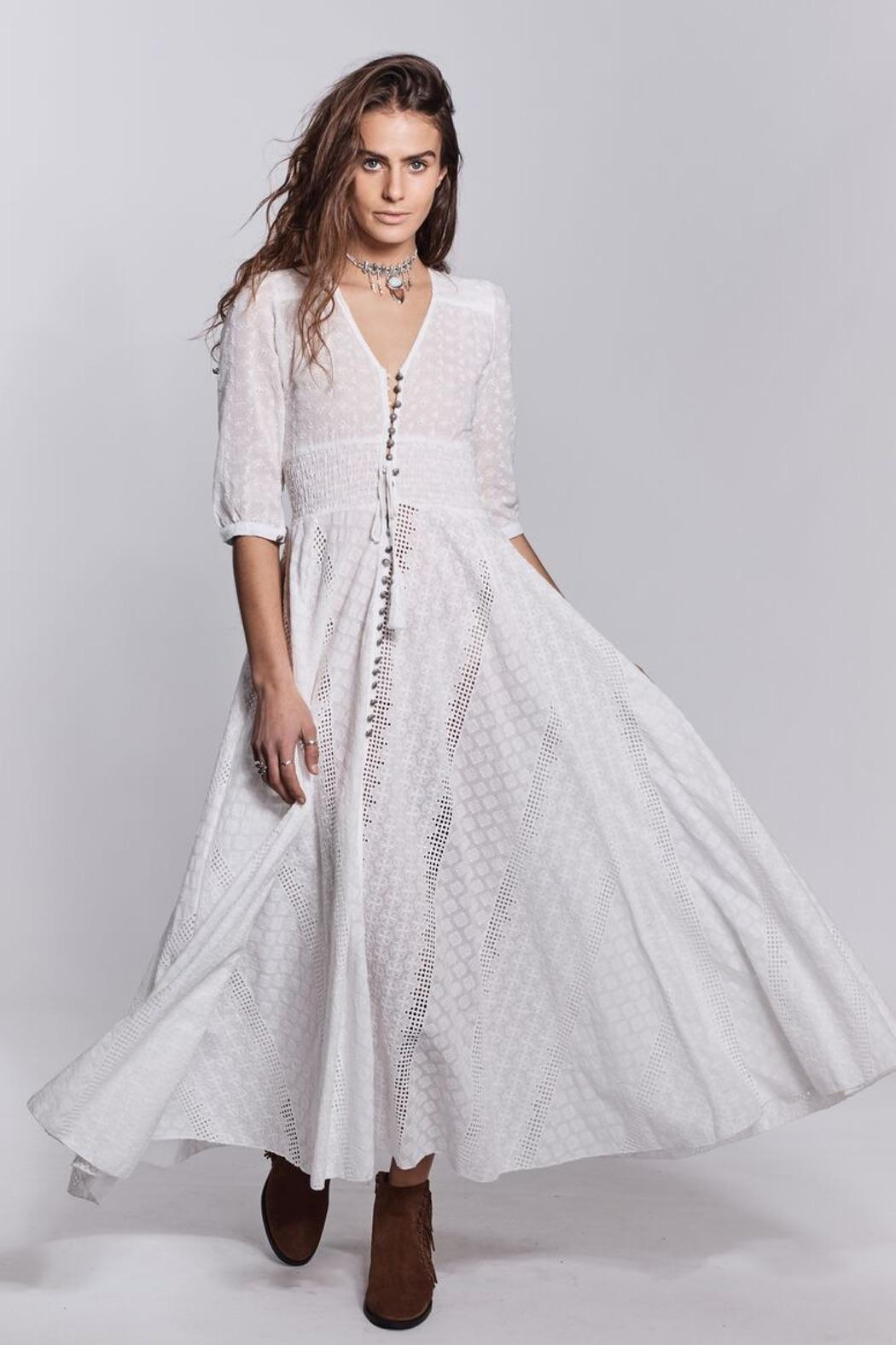 Jaase White Bohemian Dress from Queensland by White Bohemian  Shoptiques