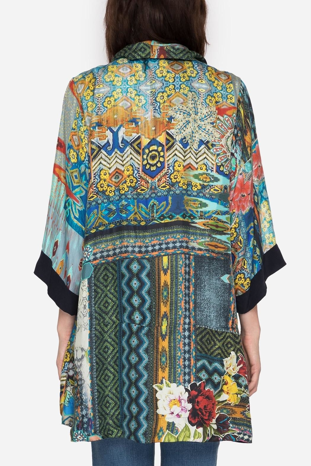 Johnny Was Koben Embroidered Kimono From Dallas By Hip