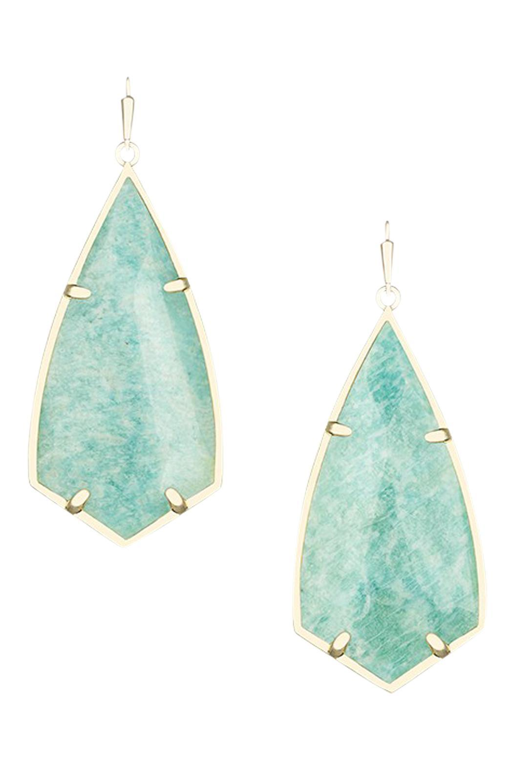 Kendra Scott Turquoise Amazonite Earrings from Arkansas by