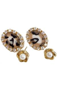 Leopard Earring Set from Las Vegas by Glam Squad Shop ...