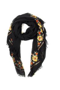 Lets Accessorize Embroidery Stitch Scarf from New York by ...