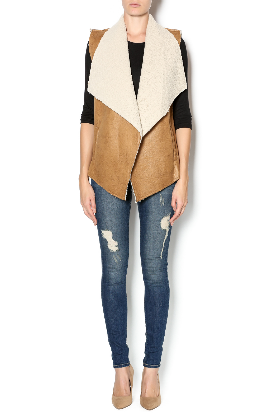Love Tree Save A Horse Vest from Arkansas by Adara