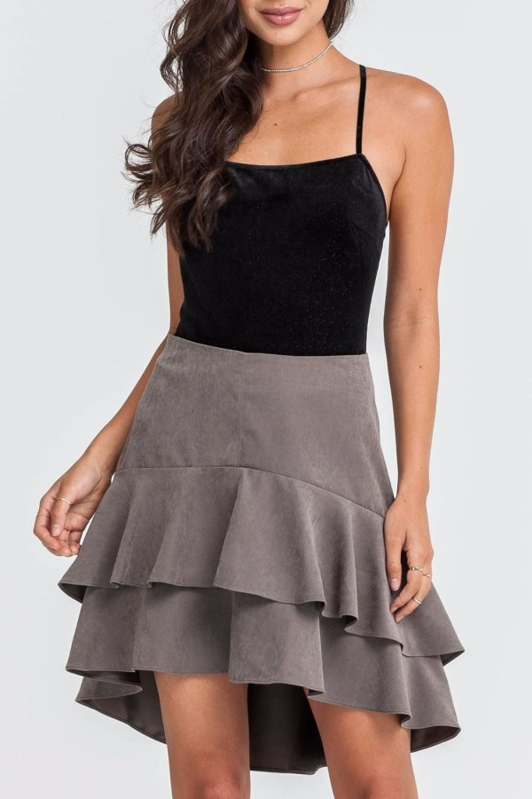 Lush Tiered Skirt Seattle Simply Chic Shoptiques