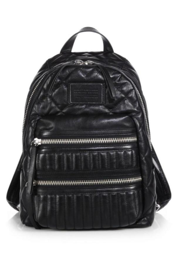 Marc Jacobs Quilted Leather Backpack Canada