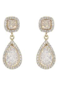 Marcia Moran Druzy Drop Earrings from Dallas by Gemma ...