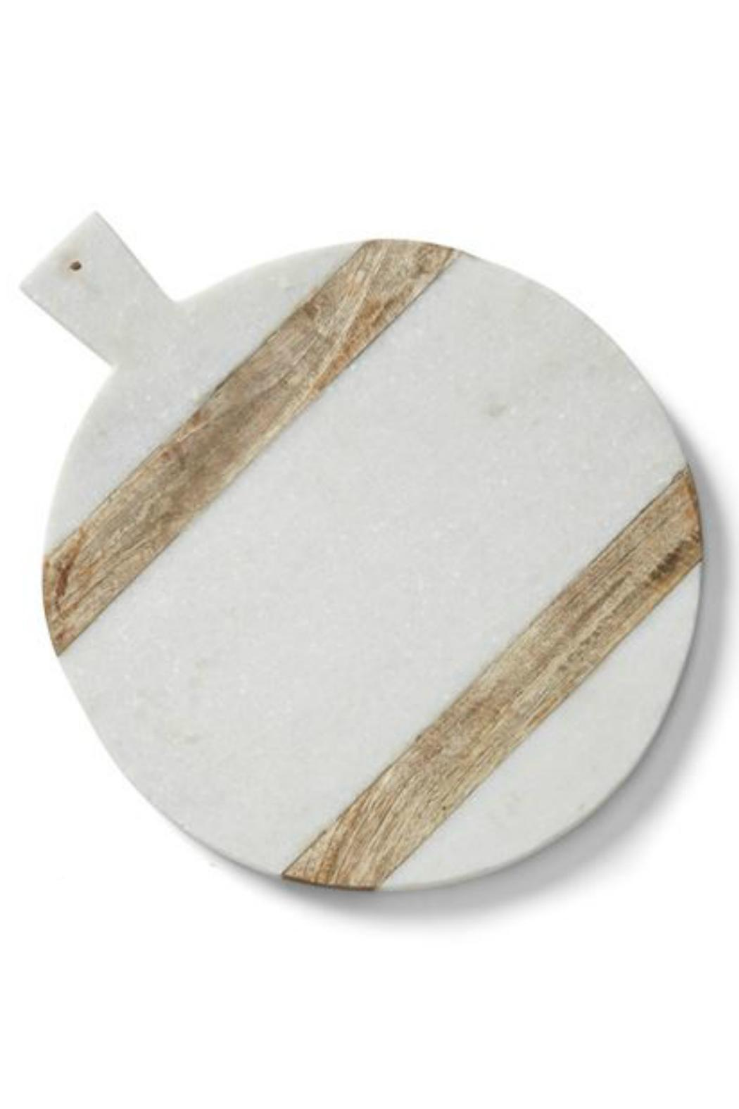 Mud Pie Marble Wood Cutting Board from New Hampshire by