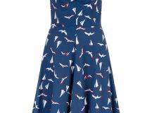 Pink Poodle Boutique Birds Boats Dress from Glasgow by ...