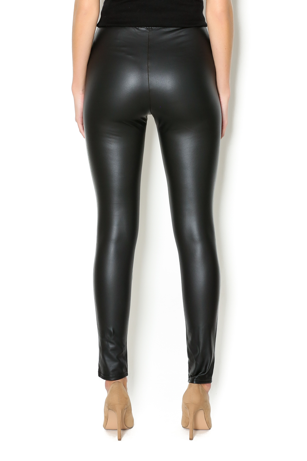 RD Style Faux Leather Legging From Michigan By Sparrow