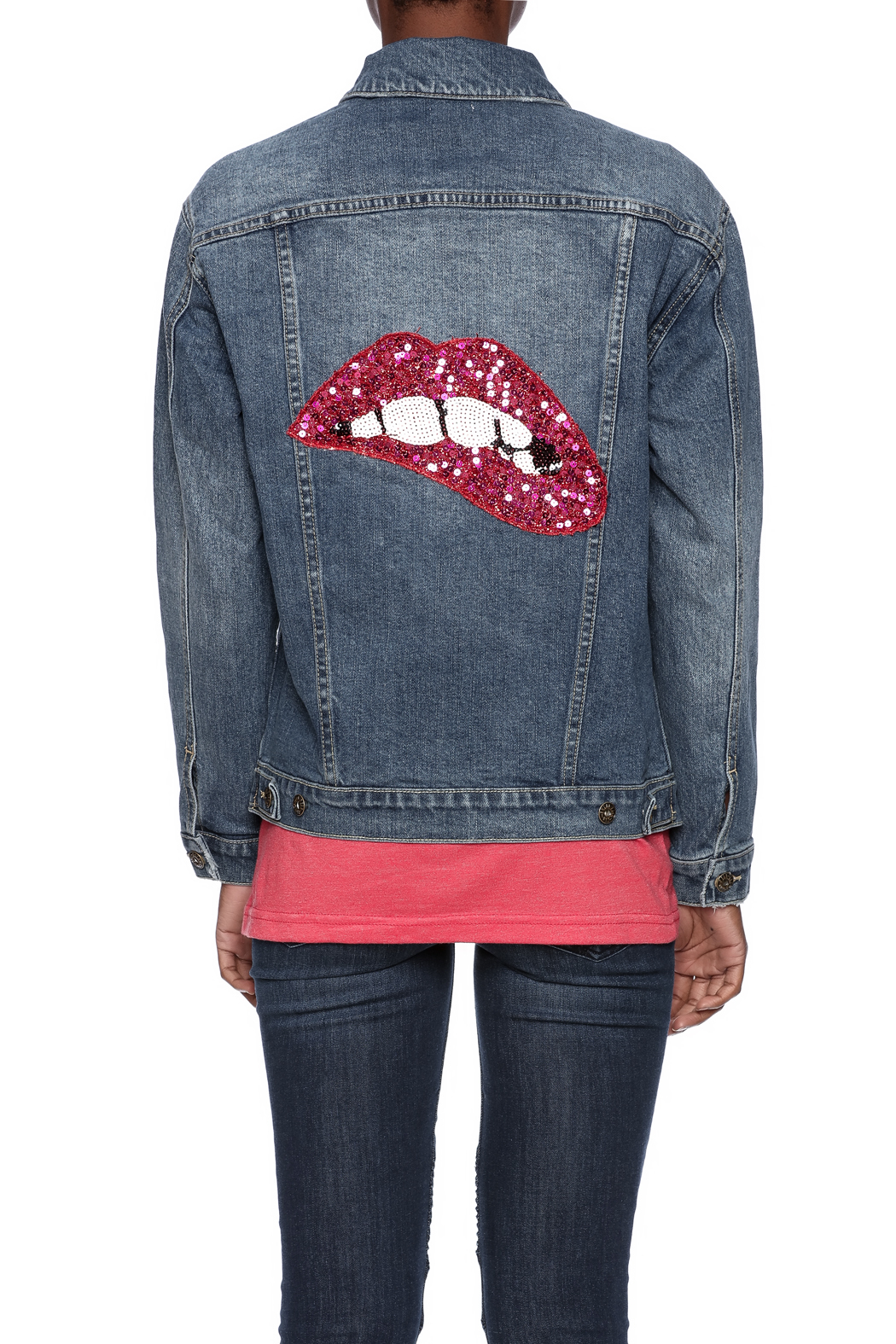 Sneak Peek Embellished Denim Jacket from Long Island by Max  Ginos  Shoptiques