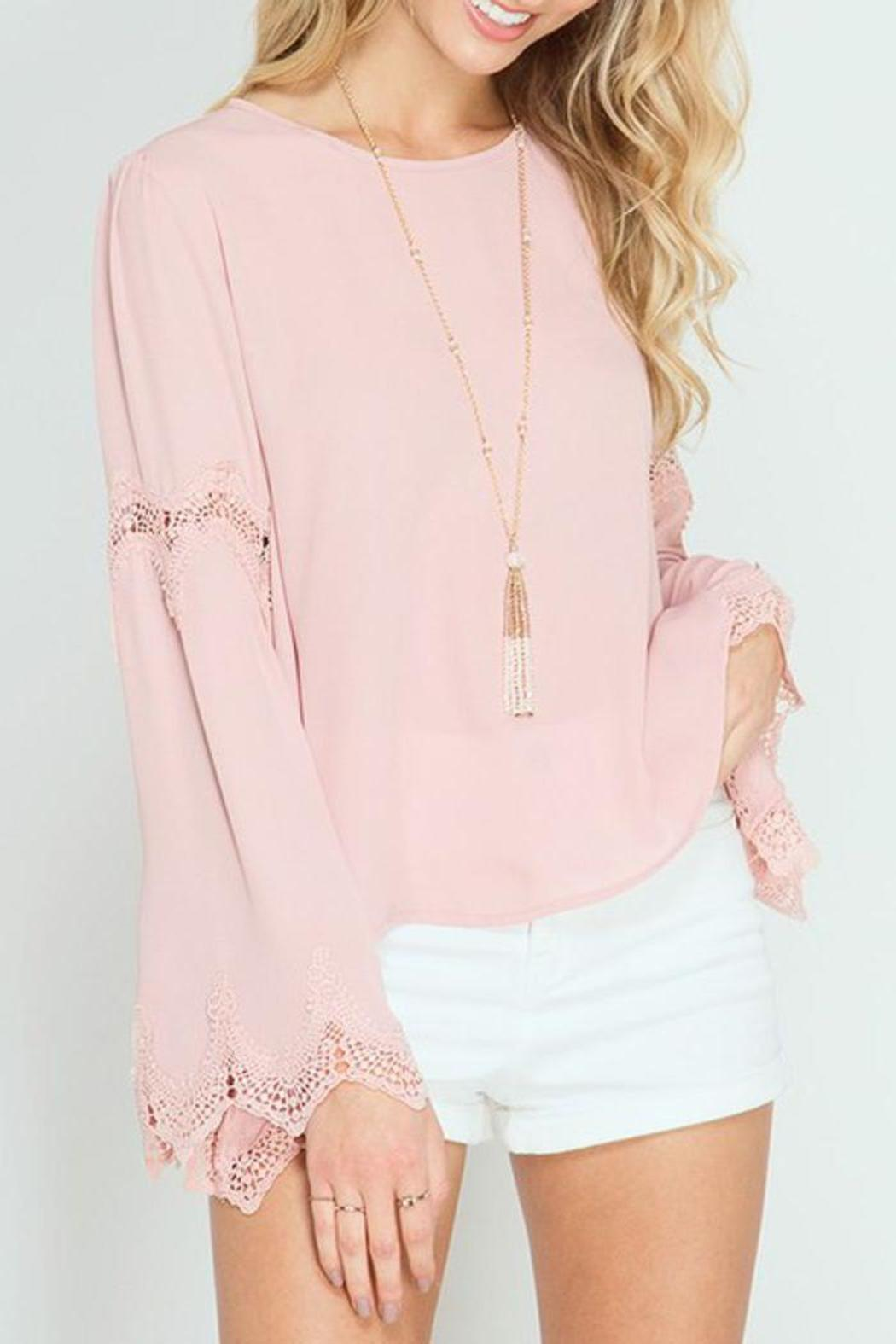 The Dressing Room Dusty Pink Blouse from California