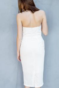 the Hanger Pencil Strapless Dress from Orange County by OC ...