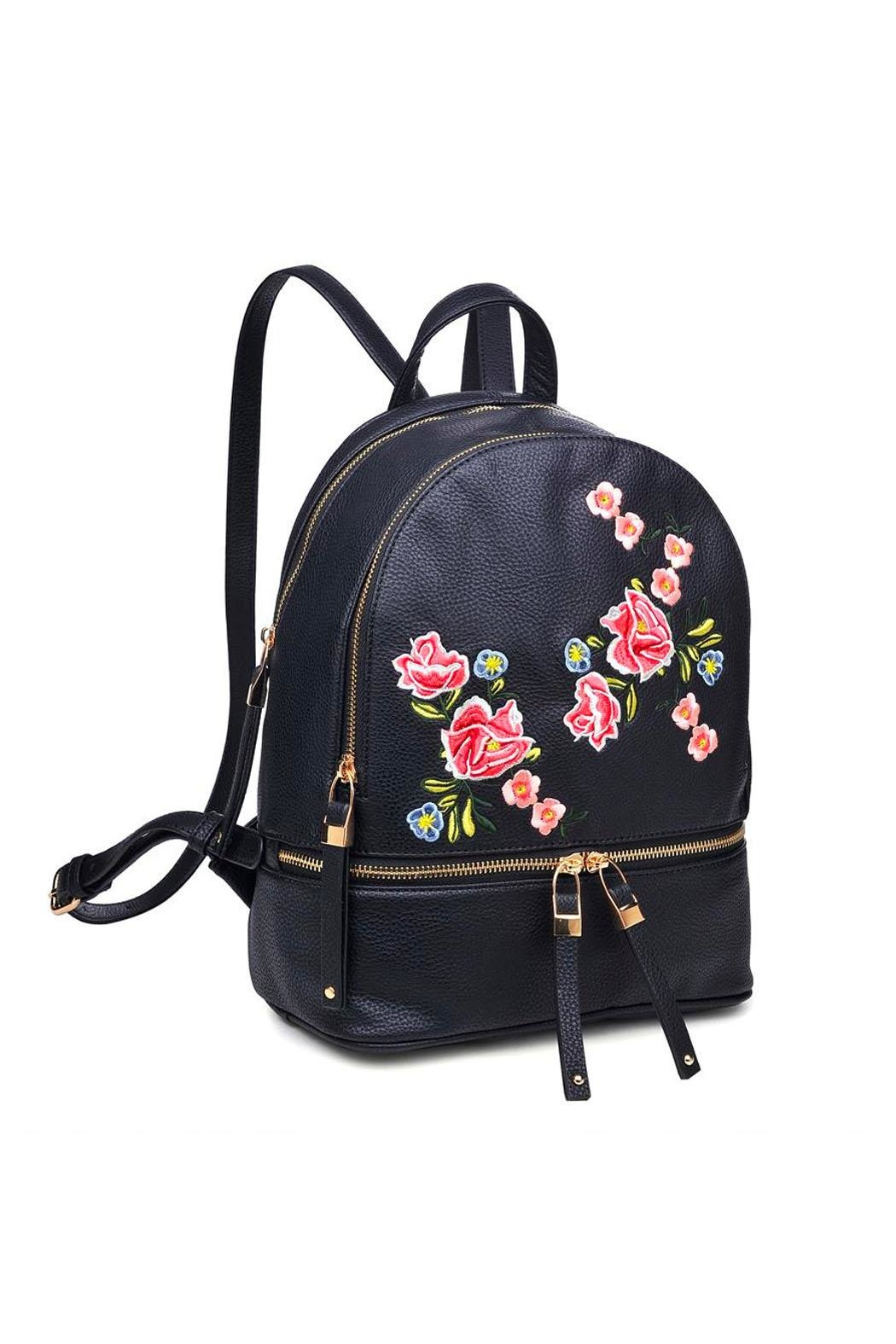 Urban Expressions Rose Backpack From New York By Let's Bag