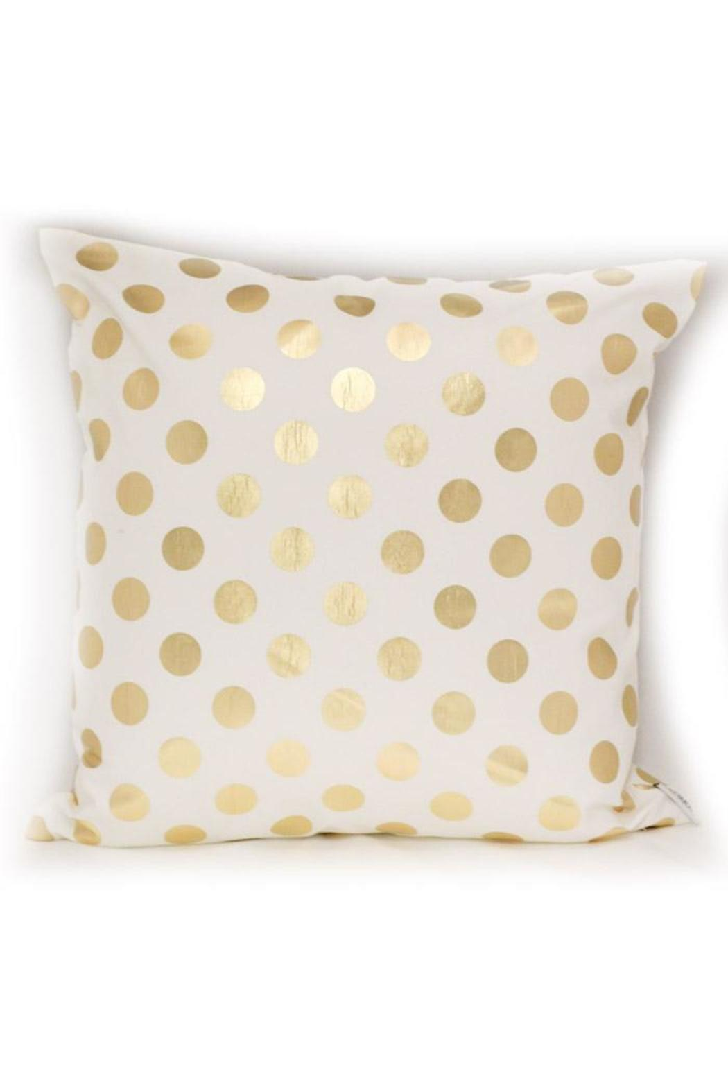 Urban Sassafras Gold Accent Pillow from Illinois by urban