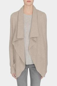 White + Warren Cashmere Shawl-Collar Coatigan from New ...
