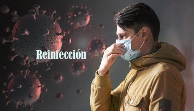 reinfección de COVID-19