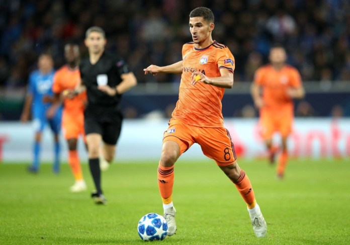 Houssem Aouar is a man in demand. (Photo by Adam Pretty/Bongarts/Getty Images)
