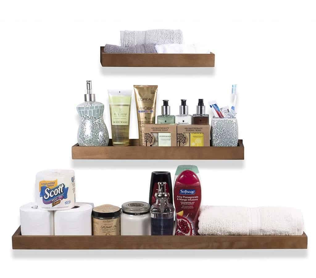 Built In Bathroom Shelves 35 Best Bathroom Shelf Ideas And Designs For 2019 Decor Snob