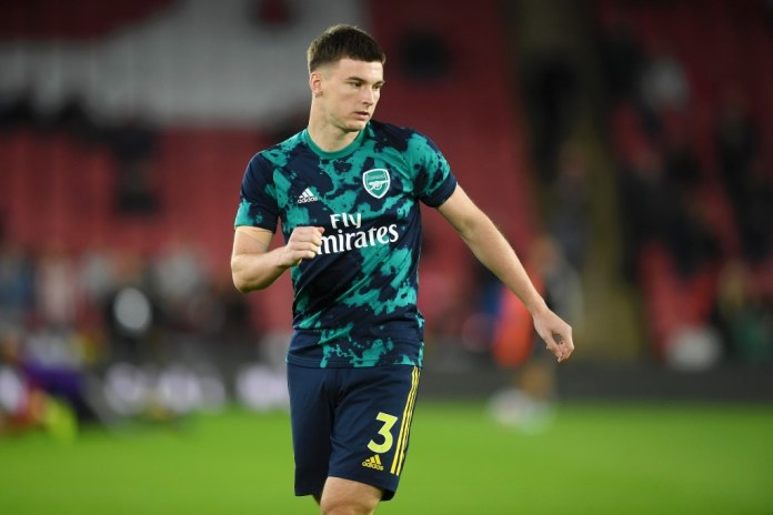 Arsenal need to add some competition for Kieran Tierney. (Photo by Michael Regan/Getty Images)