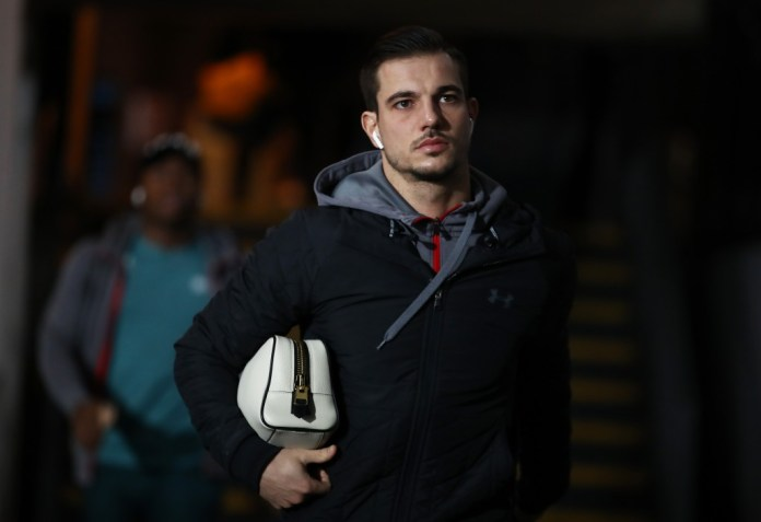 Cedric Soares has joined Arsenal on a permanent deal. (Photo by Bryn Lennon/Getty Images)