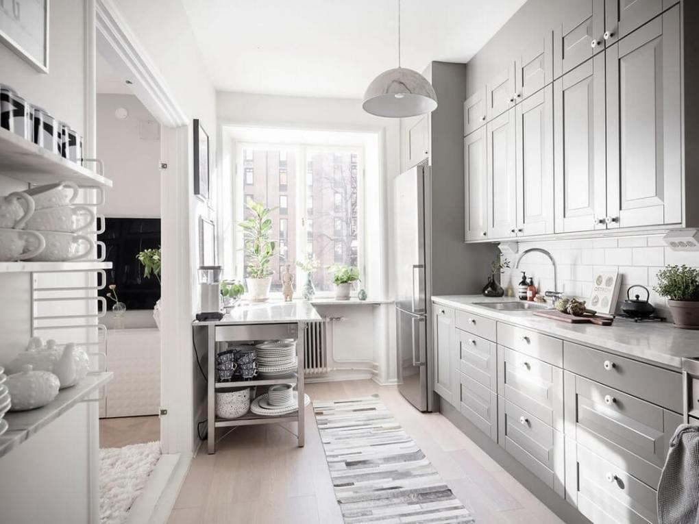 thiết kế nhà bếp trong một ngôi nhà riêng