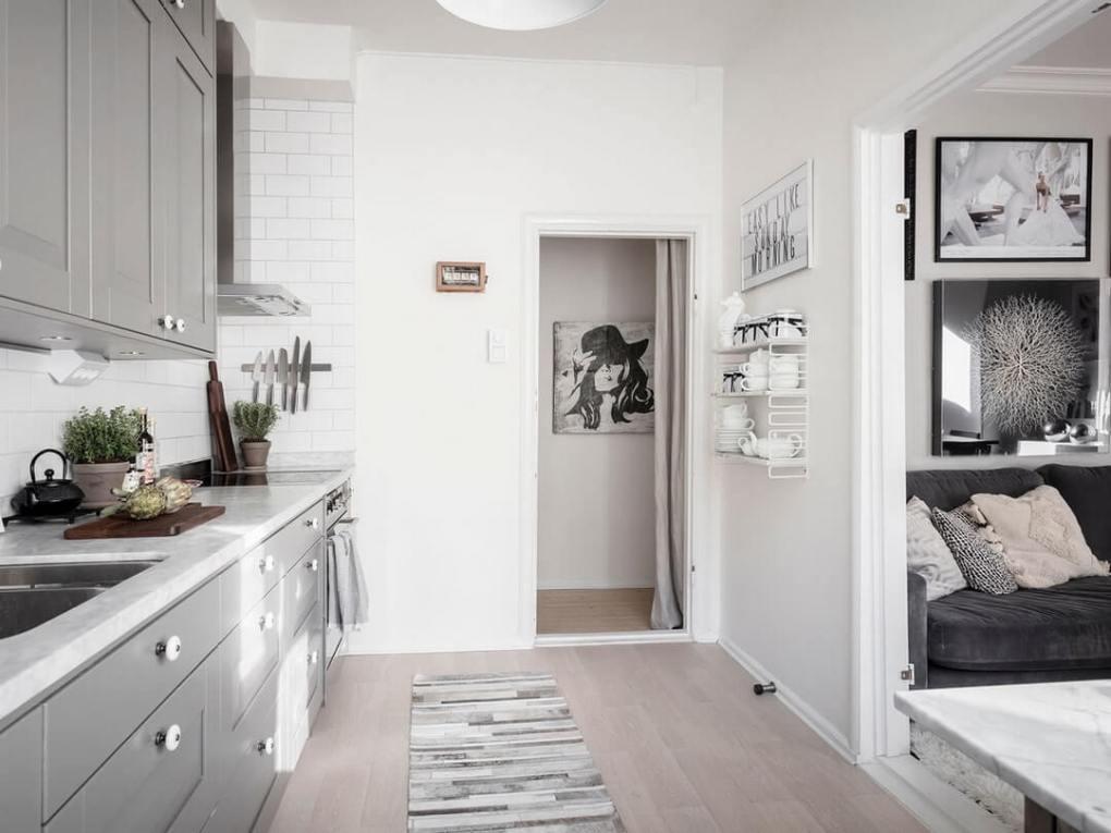 thiết kế nhà bếp trong nhà