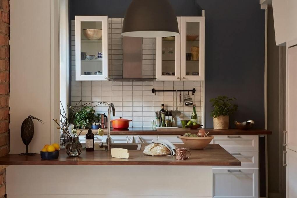 tủ bếp thiết kế