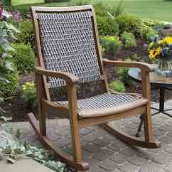 Outdoor Rocking Chairs Little Tikes Swivel Chair How To Choose Your 24 Tips And Ideas Interiors Resin Wicker Eucalyptus Brown Grey