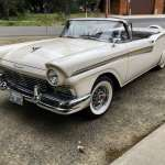 Pick Of The Day 1957 Ford Has Retractable Roof System