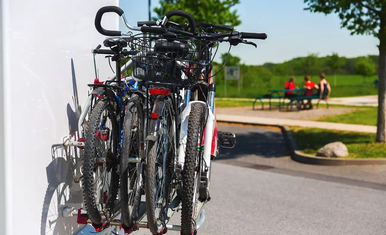 swagman rv approved 4 bike bumper rack