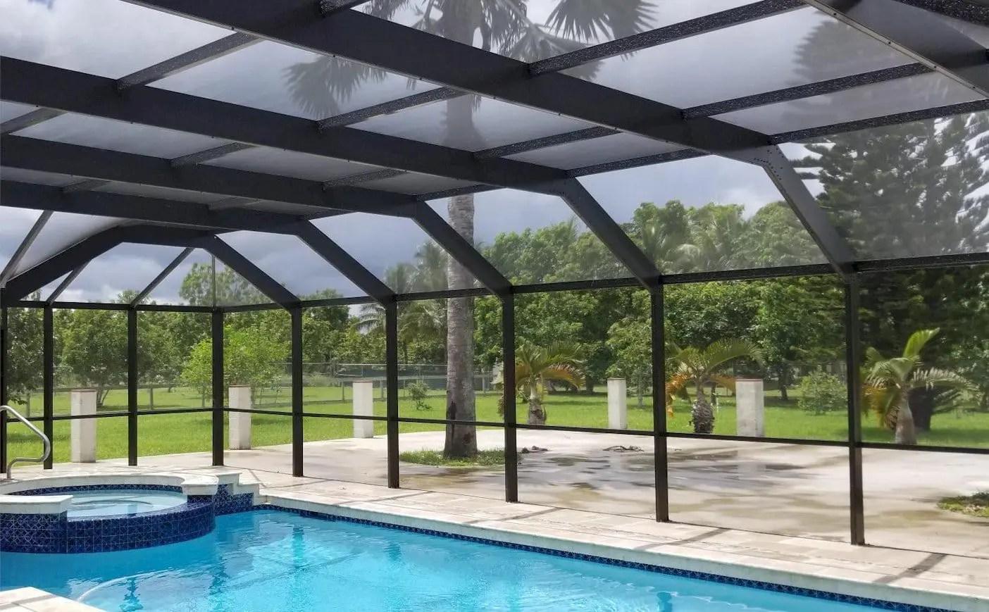 screen pool patio enclosures miami