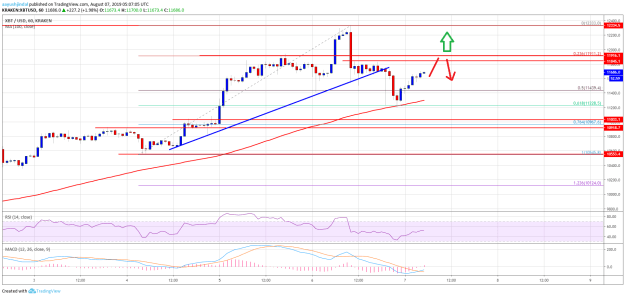 Bitcoin Price Analysis (BTC/USD)