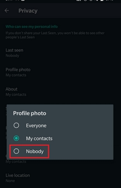 [SOLVED] : How to hide profile picture on WhatsApp and Telegram