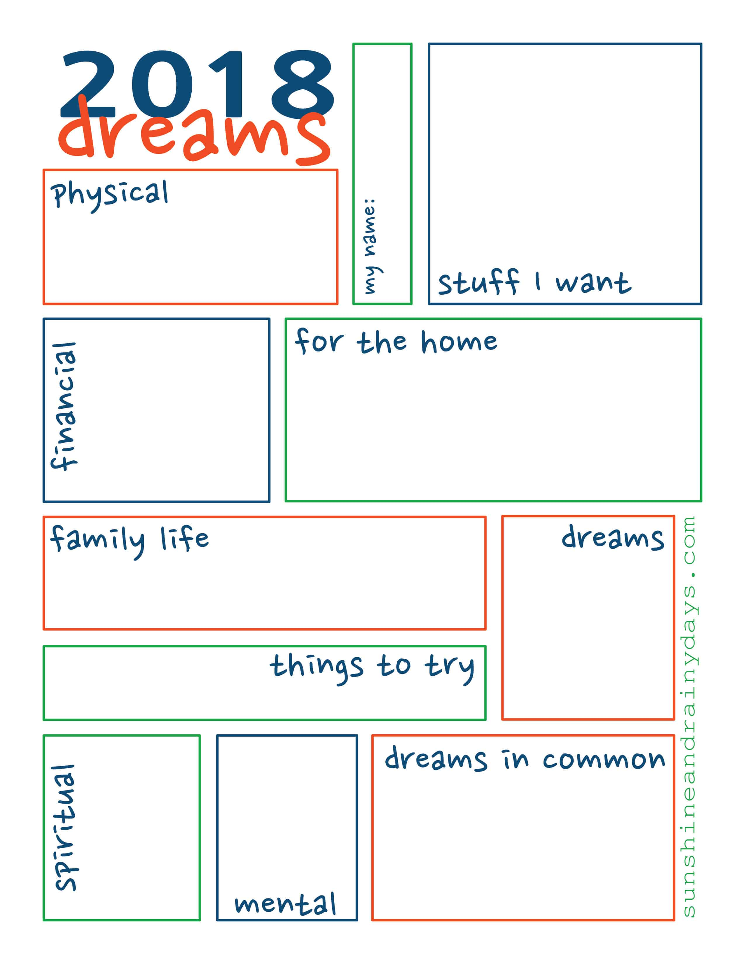 Dream Sheet