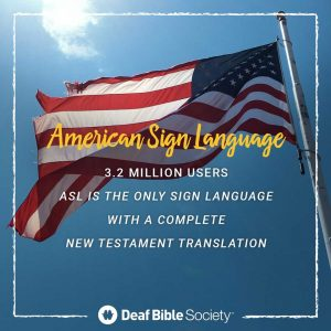 Deaf and listening to ministries group as much as shut Scripture hole - Mission Community Information