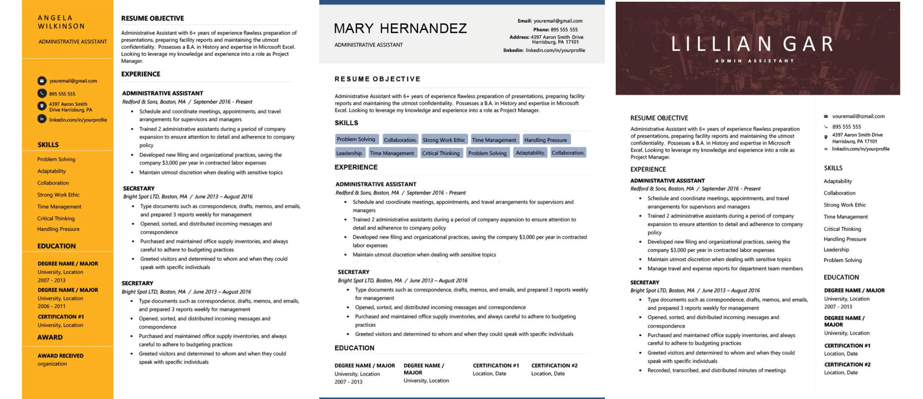 sample resume for bioinformatics fresher