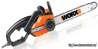 WORX WG303.1 16 Inch Chain Saw 3.5 HP 14.5 Amp