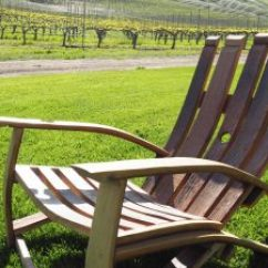 Barrel Stave Adirondack Chair Plans Desk Gaming 135 Wine Furniture Ideas You Can Diy Or Buy Photos