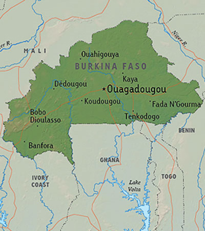 Shooters goal church in Burkina Faso - Mission Community Information