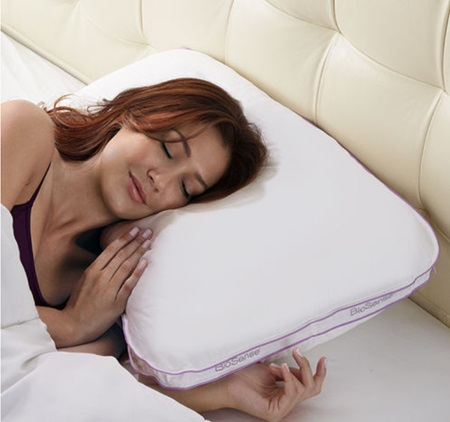 brookstone biosense 2 in 1 pillow