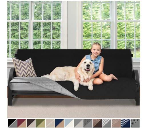 Sofa Shield Original Patent Pending Reversible Futon Slipcover