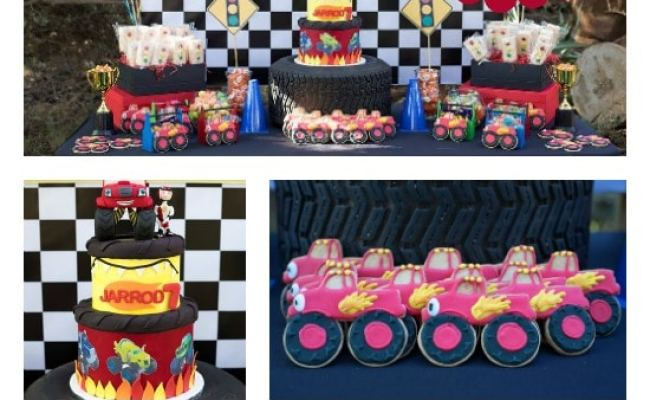 Cool Blaze And The Monster Machines Party Pretty My