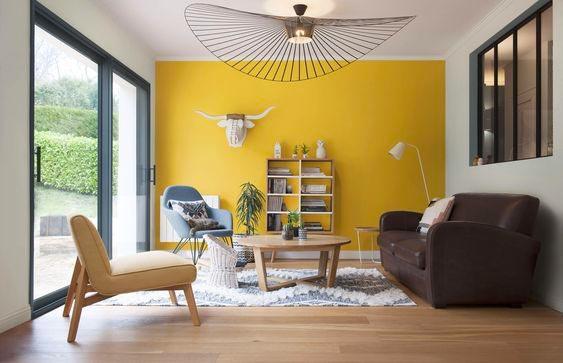 couleur pantone 2021 le jaune et gris