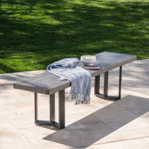 Concrete Patio Furniture Inspiration Outsidemodern