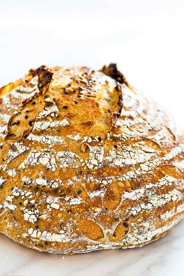 Rustic Sourdough Bread Recipe Leelalicious