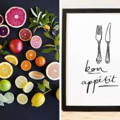 Art For Kitchen Island Pendants 20 Gorgeous Ideas You Ll Love Renovations Fruit Print And Silverware