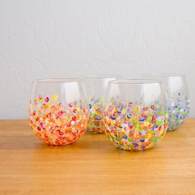 35 diy ideas for creative glassware