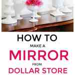 How To Make An Accent Wall Mirror Easy Tutorial Thistlewood Farm