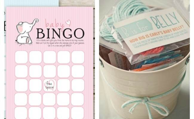 15 Entertaining Baby Shower Games Pretty My Party
