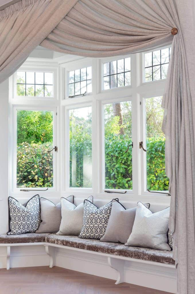 bay window curtain ideas for living room cozy small photos how to choose the best curtains decor snob treatments
